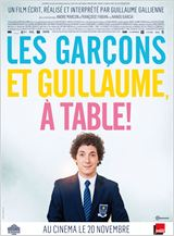 affiche a table film sorti le 20 novembre