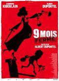 affiche film Dupontel 9 mois & demi