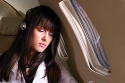 Enjoying the flight
