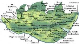 carte Luberon c provenceweb.fr