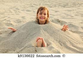 enfant sable