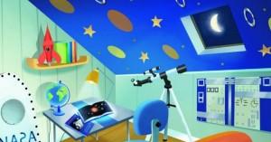 image chambre astronaute