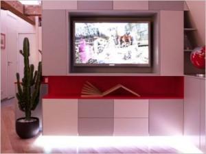 meuble tv © Ludo Martin & Pascal Othlinghaus
