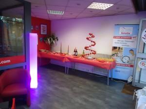 Inauguration des locaux de Solutia Toulouse